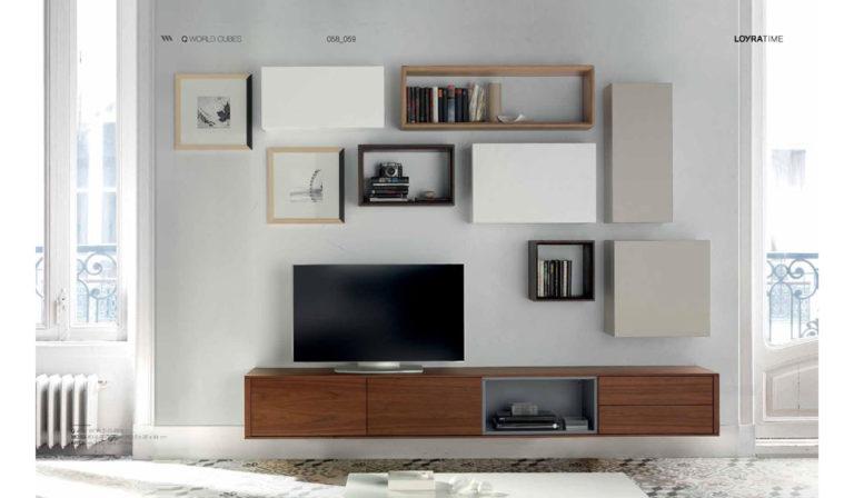 Salones Modernos Loyra Mobiliario