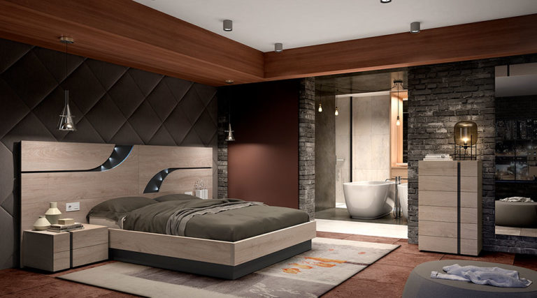 Dormitorios Matrimonio Modernos 769-12