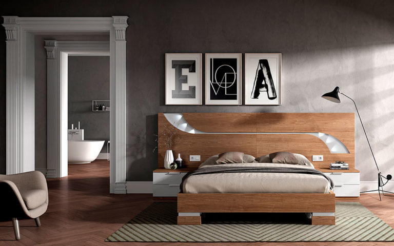 Dormitorios Matrimonio Modernos 769-13