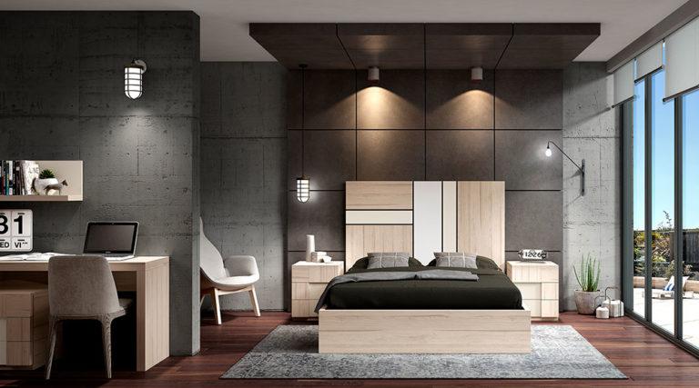 Dormitorios Matrimonio Modernos 769-14