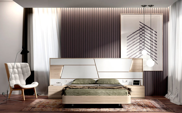 Dormitorios Matrimonio Modernos 769-18