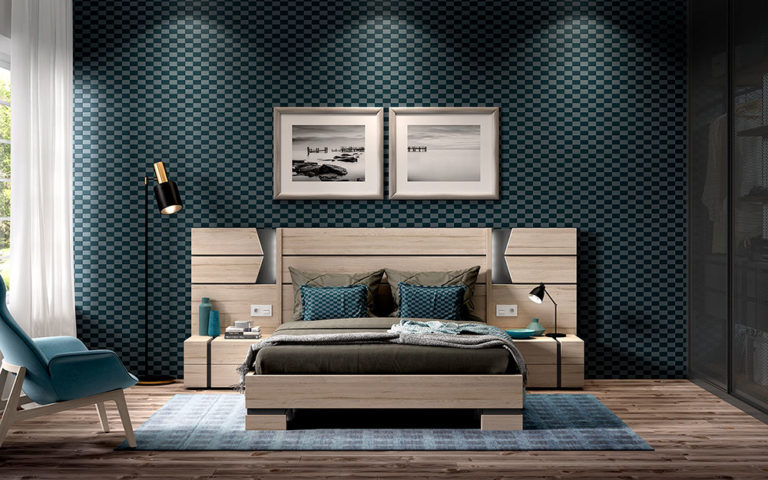 Dormitorios Matrimonio Modernos 769-2