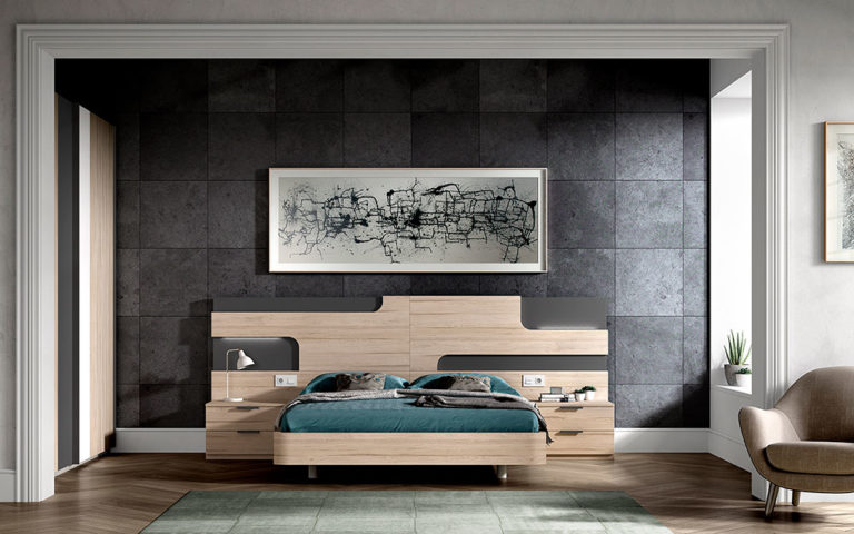Dormitorios Matrimonio Modernos 769-22