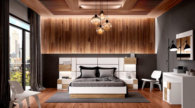 Dormitorios Matrimonio Modernos 769-24