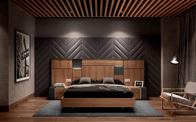 Dormitorios Matrimonio Modernos 769-27