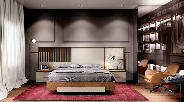 Dormitorios Matrimonio Modernos 769-31