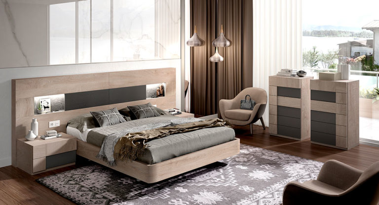 Dormitorios Matrimonio Modernos 769-35
