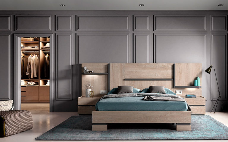 Dormitorios Matrimonio Modernos 769-4