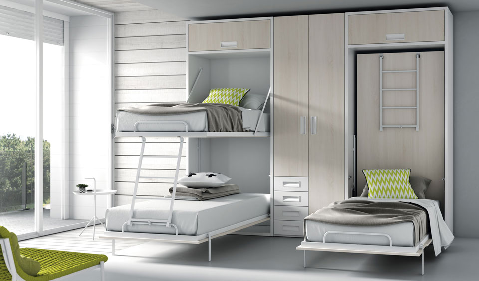 Cama Abatible litera  Tegar Mobel Daily life furniture Tegar Mobel 0005-111