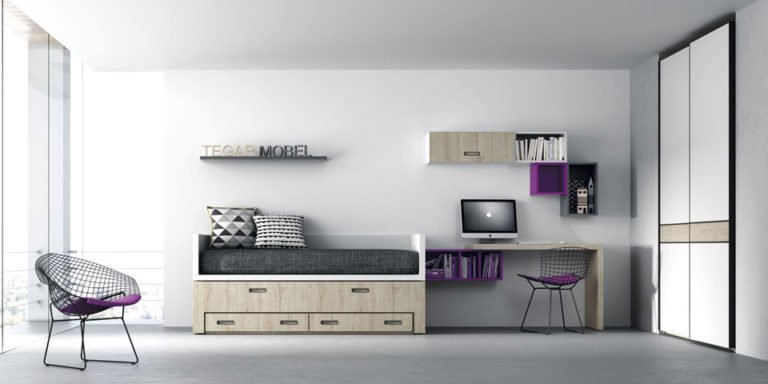 Cama compacta Tegar Mobel daily life furniture 0005-145