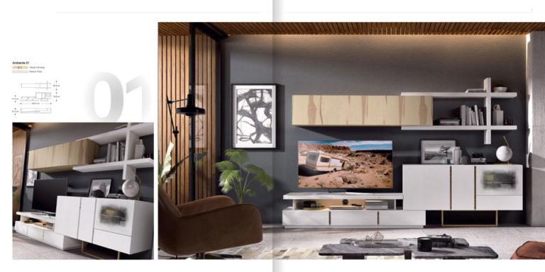 Salones Modernos Muebles Hermida 564-1
