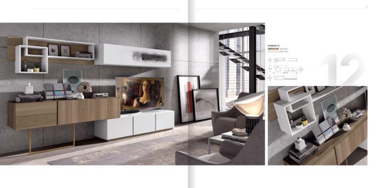 Salones Modernos Muebles Hermida 564-12