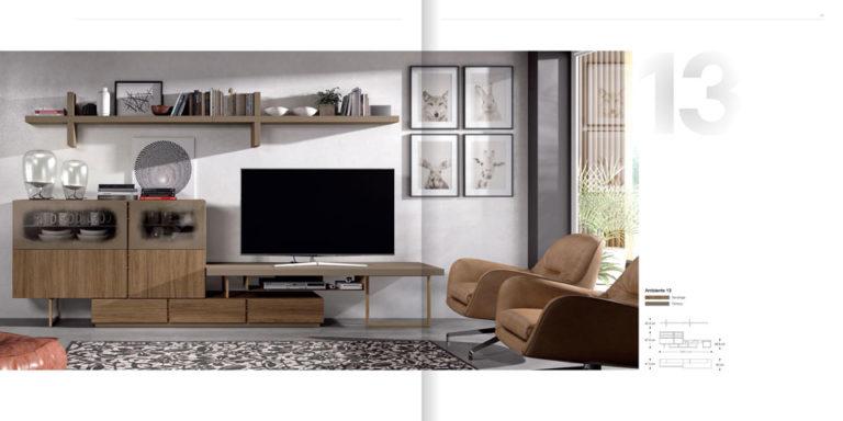 Salones Modernos Muebles Hermida 564-13