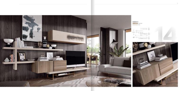 Salones Modernos Muebles Hermida 564-14