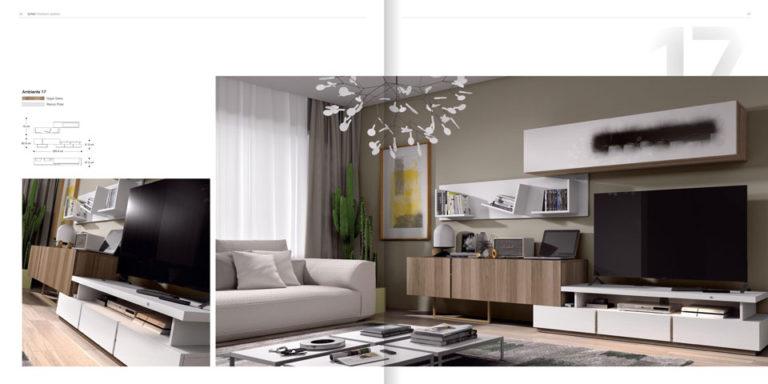 Salones Modernos Muebles Hermida 564-17