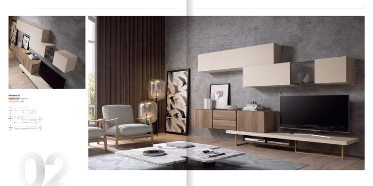 Salones Modernos Muebles Hermida 564-2