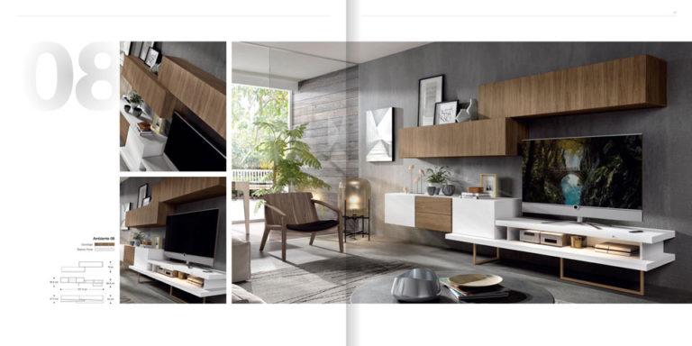 Salones Modernos Muebles Hermida 564-9