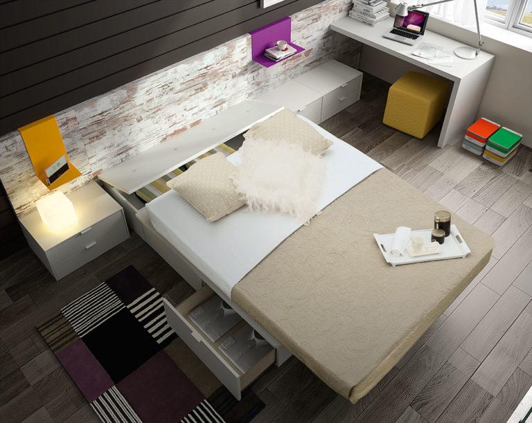 Dormitorios Matrimonio Modernos Tegar Mobel 5-69
