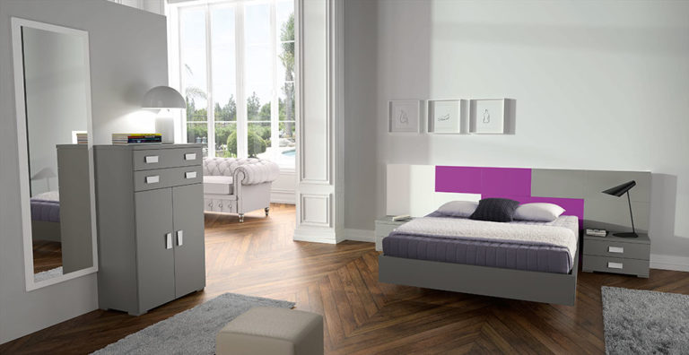 Dormitorios Matrimonio Modernos Tegar Mobel 5-75
