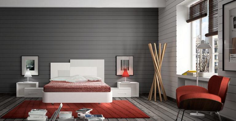 Dormitorios Matrimonio Modernos Tegar Mobel 5-86