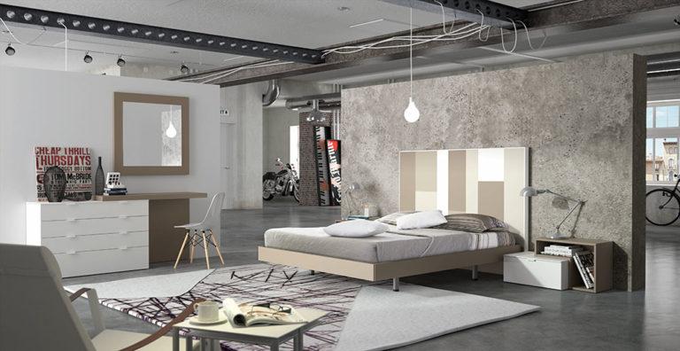 Dormitorios Matrimonio Modernos Tegar Mobel 5-93