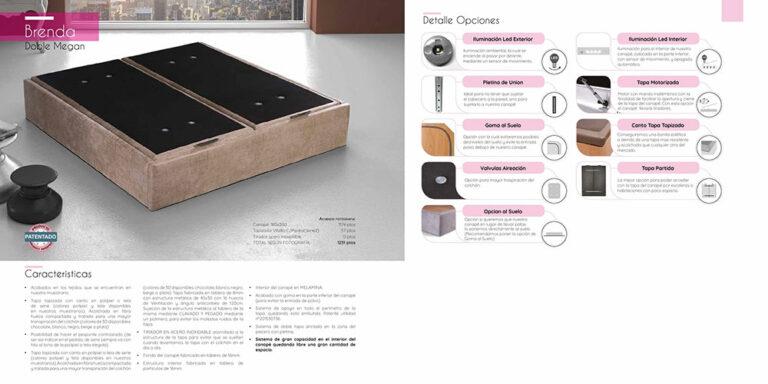 Canape abatible Mod. Brenda 770-2