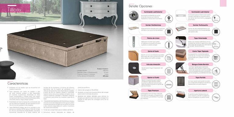 Canape abatible Mod. Tiffany 770-3