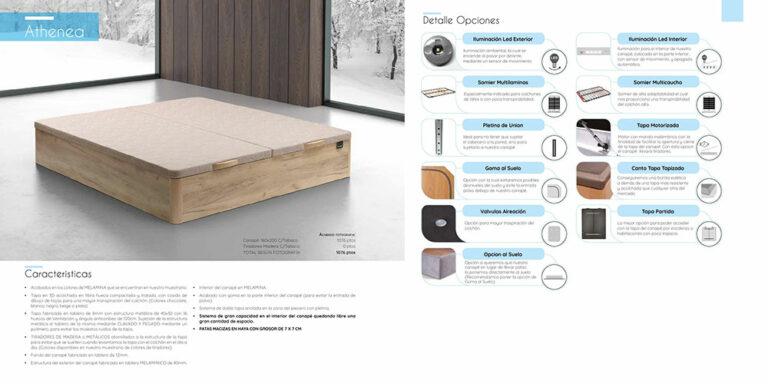 Canape abatible madera Mod. Athenea 770-26