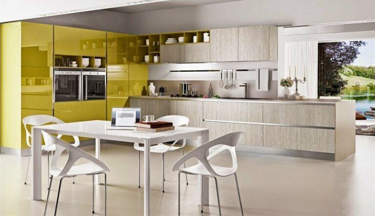 Muebles de cocina modernos en madera