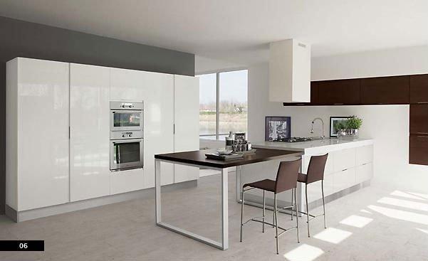 Muebles de cocina con puertas enmarcadas o plafonadas