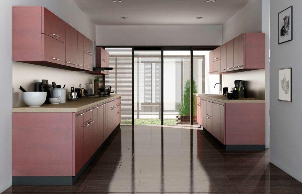 cocina diseño paralelo
