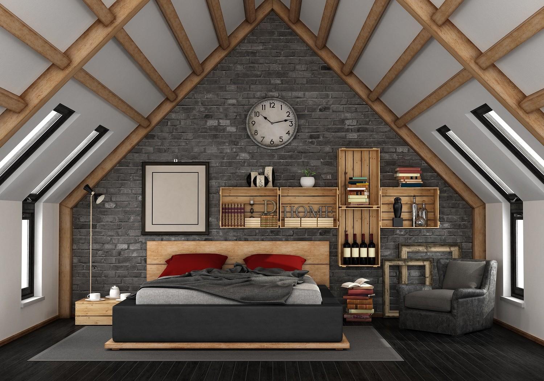 comprar Dormitorio de matrimonio estilo rústico