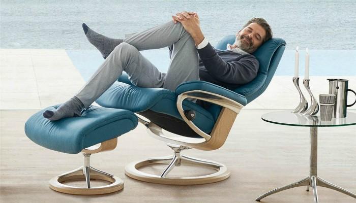 Un sillón stressless este mes de mayo para disfrutar del verano