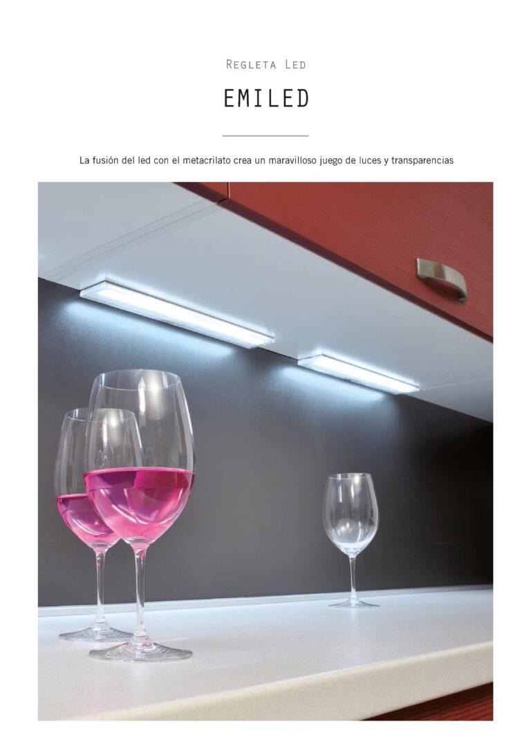 Sistema de luz para muebles de cocina de focos independientes