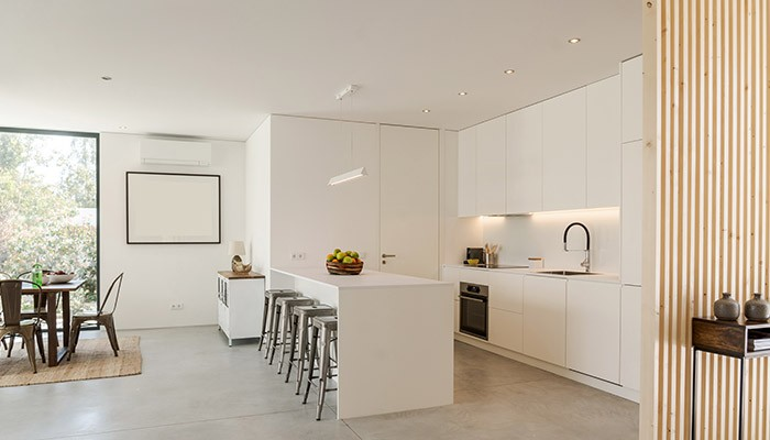 6 Ideas para decorar un salón con cocina americana - Parque ...