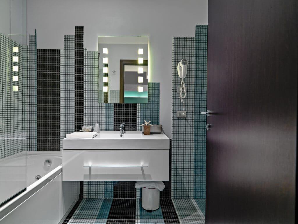 espejo a medida para cuarto de baño