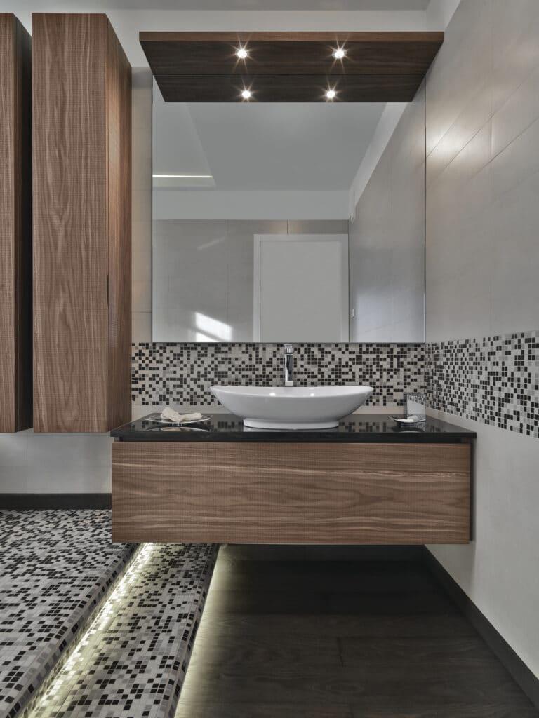 interior mueble baño