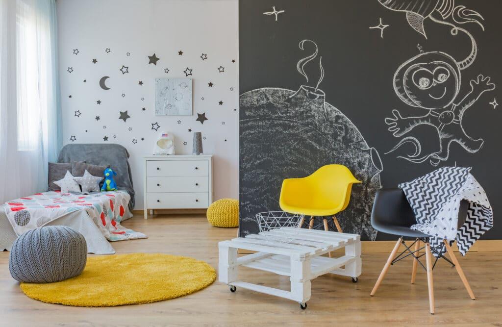 dormitorio juvenil espacio