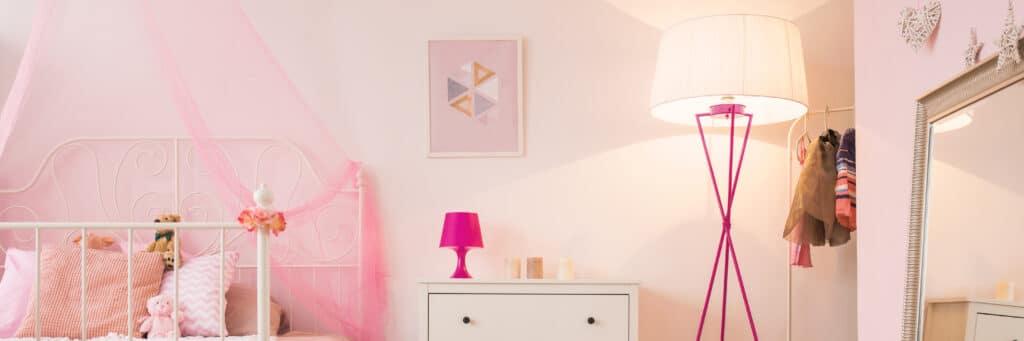 dormitorio juvenil tonos rosas