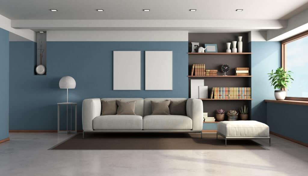 diseño interior salon a medida