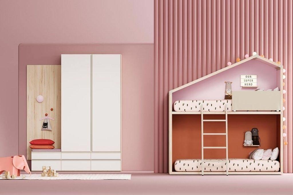 Ideas de decoración prácticas y divertidas para el dormitorio de los niños.