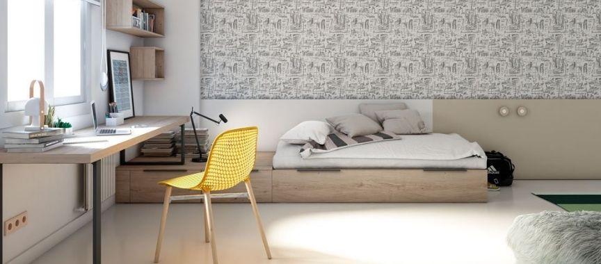 Dormitorios juveniles Jotajotape modernos: calidad y estilo